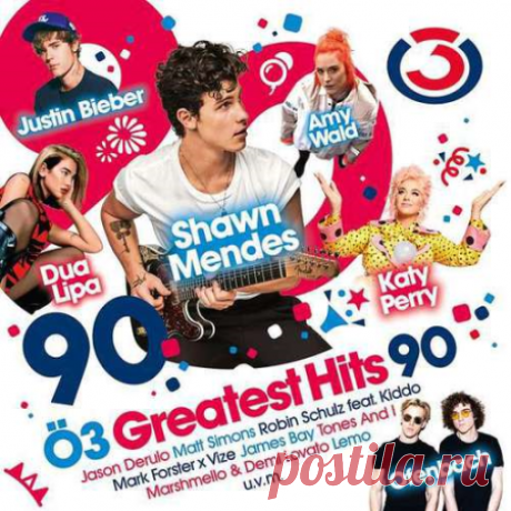 VA - OE3 Greatest Hits Vol.90 (2020) Mp3 320 kbps   1:18:40   181 MbPop, Dance, Hip Hop01. 24kgoldn; Iann Dior - Mood (feat. iann dior)02. Dua Lipa - Hallucinate03. Jason Derulo - Take You Dancing04. Ofenbach; Quarterhead; Norma Jean Martine - Head Shoulders Knees & Toes (feat. Norma Jean Martine)05. Tom Gregory - Rather Be You06.