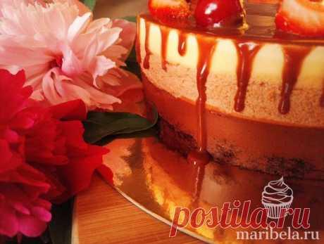 Рецепт муссового торта Три шоколада в домашних условиях с фотографиями пошагово