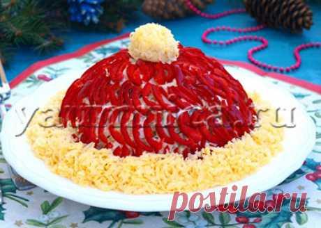 Рецепт новогоднего салата с курицей - Пошаговые рецепты с фото