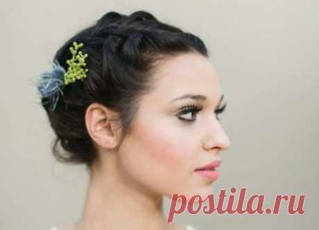 Если у тебя каре: свадебные причёски на короткие волосы