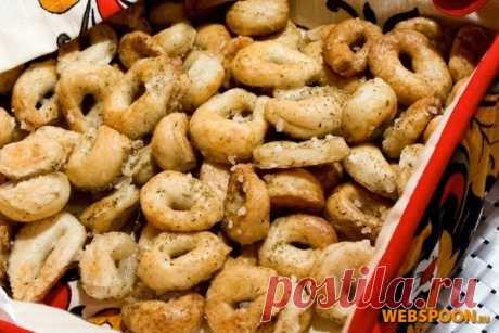 Итальянские Таралли | Рецепт итальянких сушек с фото | Домашние бублики на Webspoon.ru