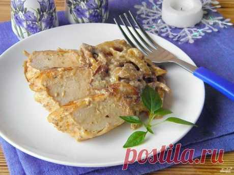 Куриное филе с грибами на ужин - 85 золотых рецептов!