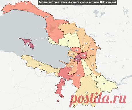 Активисты «Красивого Петербурга» создали карту преступлений города   The Neva Room