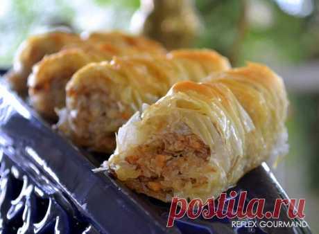 Baklawas Rolls - reflex gourmand