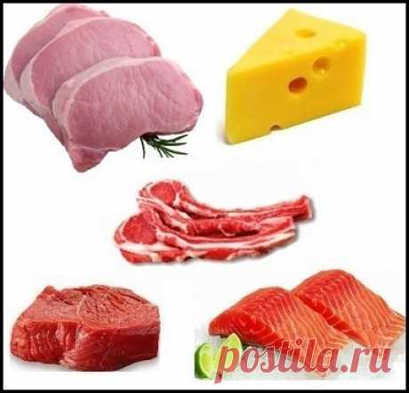 Protein sources: