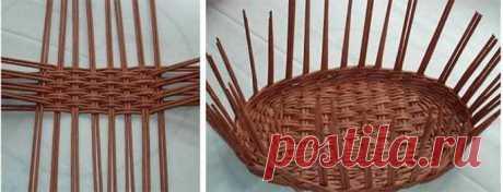 Плетение из газетных трубочек для начинающих