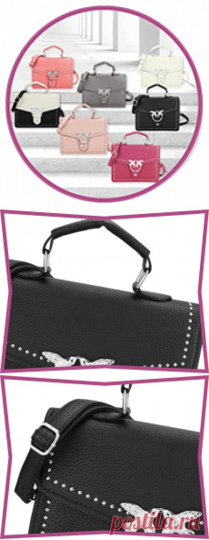 Женские сумки BUYLEN SWAIIOW ЭЛЕГАНТНЫЙ ДИЗАЙН И АККУРАТНЫЙ СИЛУЭТ BUYLEN - SWAIIOW Стильная мягкая сумочка через плечо гармонично впишется в любой образ, а внешний минималистичный дизайн позволит подчеркнуть приверженность ее владелицы вечно актуальной классике. Модель из высококачественной эко кожи, застегивается фирменной застежкой с ласточками на клапане. С комфортом чередовать варианты ношения позволяют удобные ручки и регулируемый плечевой ремешок.  | быстрые рецепты