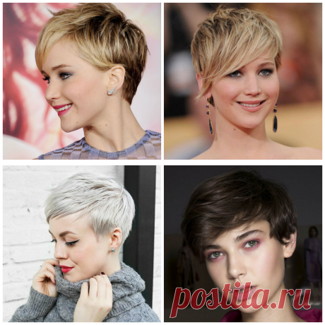 Womens short hairstyles 2019: top hottest novelties of short hair styling