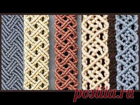 Модные браслеты из Макраме для мужчин и женщин