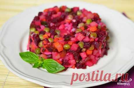 Винегрет - пошаговый кулинарный рецепт на Повар.ру
