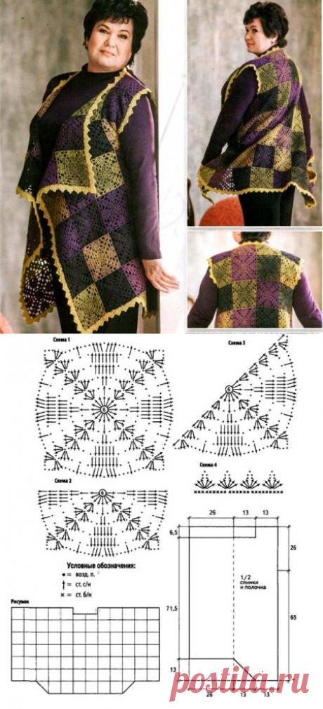 Vest a hook from square motives
