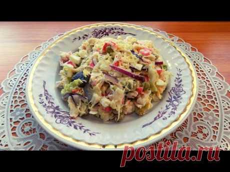 6 рецептов приготовления салатов из крабовых палочек