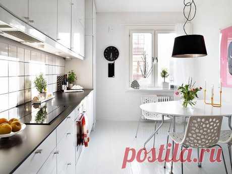 Угловая кухня для малогабаритной кухни в квартире: планировка и фото дизайна