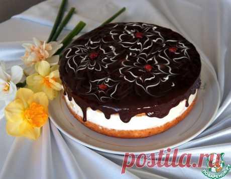 Простой торт с нежнейшим творожным кремом – кулинарный рецепт