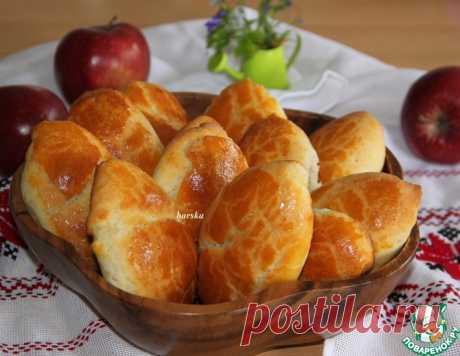 Быстрые пирожки с яблоками - вкусный и проверенный рецепт