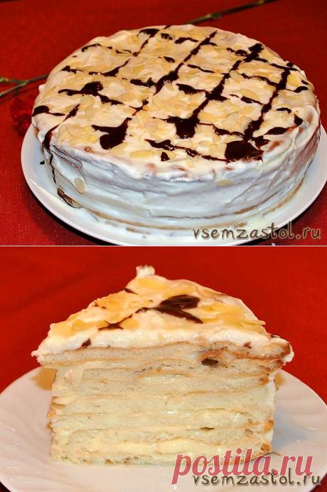 Торт «Мадам Помпадур»
