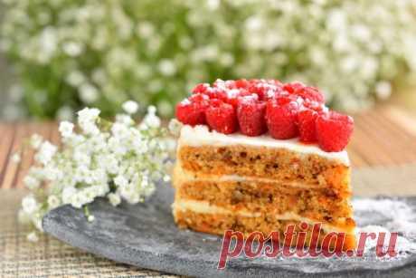 Морковный торт с орехами и сметанным кремом - Рецепты. Кулинарные рецепты блюд с фото - рецепты салатов, первые и вторые блюда, рецепты выпечки, десерты и закуски - IVONA - bigmir)net - IVONA bigmir)net