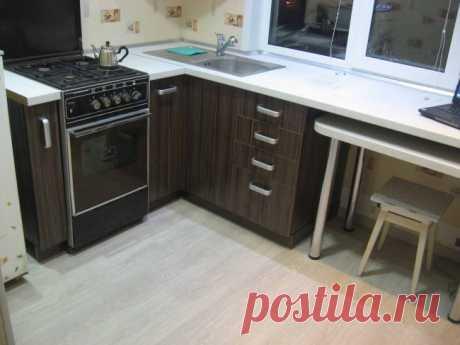 Личный опыт бюджетного ремонта кухни 5 кв.метров — медленно, но тщательно и аккуратно