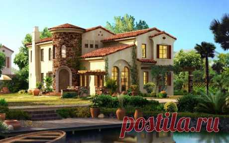 Красивый дом обои для рабочего стола, картинки и фото - RabStol.net