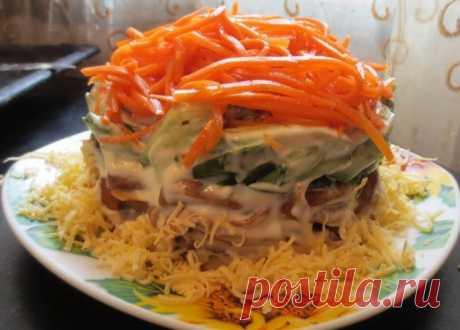 Рецепты салатов из шампиньонов – БУДЬ В ТЕМЕ