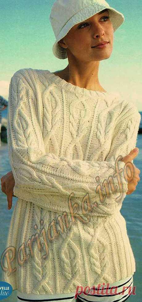Пуловер (ж) 530 Bergere de France 1999