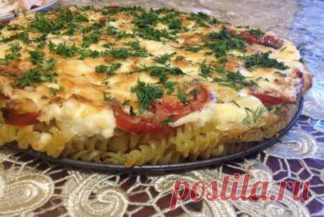 Макароны, запеченные с помидорами, под сыром рецепт – итальянская кухня: основные блюда. «Еда»