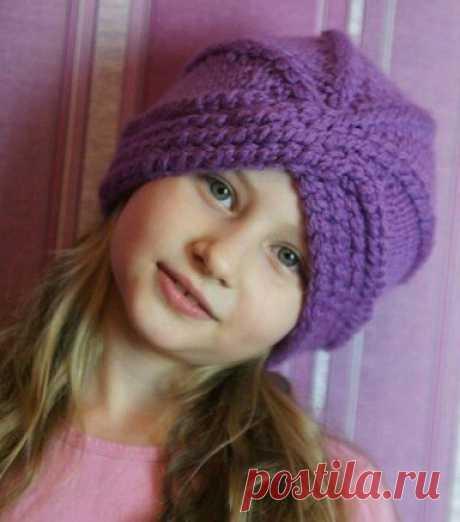 Акрил для вязания шапки