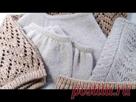 Вязание. Универсальный край изделия, легко и красиво.  Подробный мк. //Knitting /MK.
