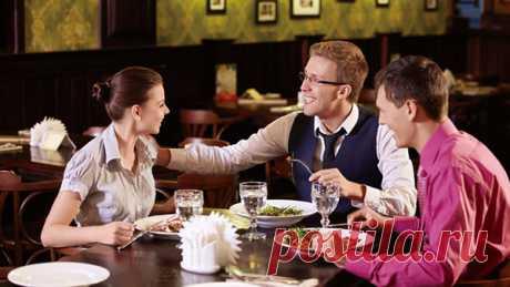 20 бесполезных фактов, которые помогут избежать неловких пауз во время обеда в ресторане — Интересные факты