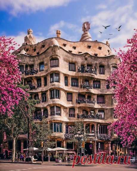 Каса Мила, Барселона ❤