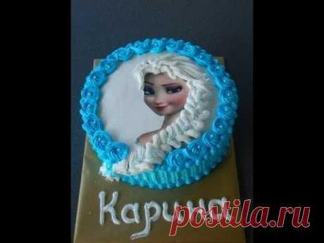 """торт """"Эльза""""/Eiskönigin Torte"""