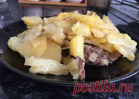 Картофельная запеканочка с фаршем Автор рецепта SofiTodd - Cookpad