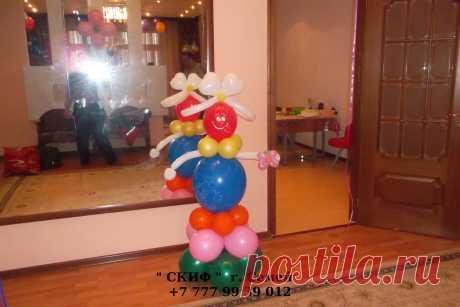 оформление шарами любых праздников и торжеств !!!