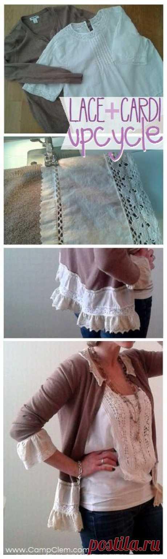 Переделки свитеров и трикотажа.