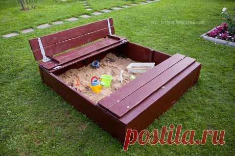 Как сделать песочницу своими руками - Блог Ивана Круглова