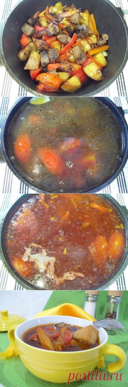 Венгерский суп-гуляш | CityWomanCafe.com