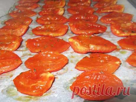 Вяленые помидоры - рецепт с фото пошагово
