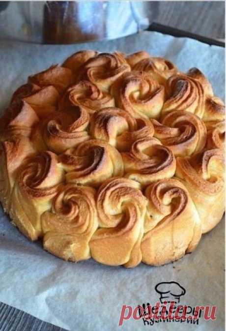 Пирог из роз.
