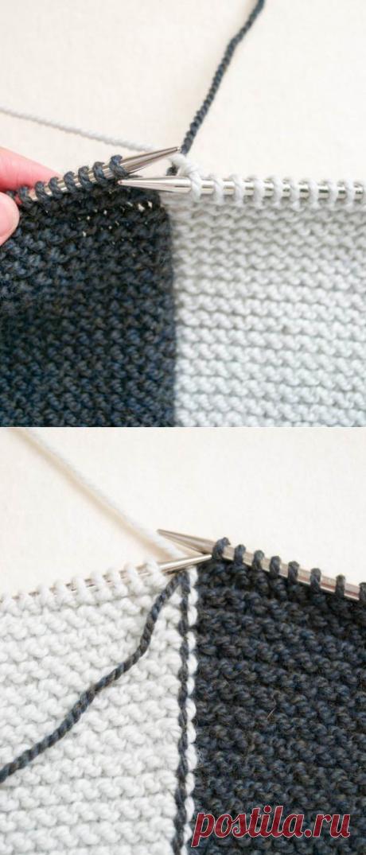 Интарсия - знакомство с интересной техникой вязания!