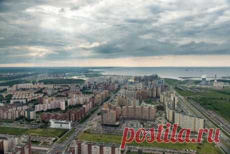 Санкт-Петербург, вид сверху   Евгений Касперский   Яндекс Дзен