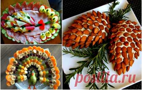 Поиск на Постиле: идеи подачи блюд