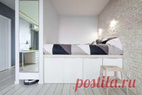 15 проверенных способов увеличить маленькую спальню | Женский журнал Домашний Очаг