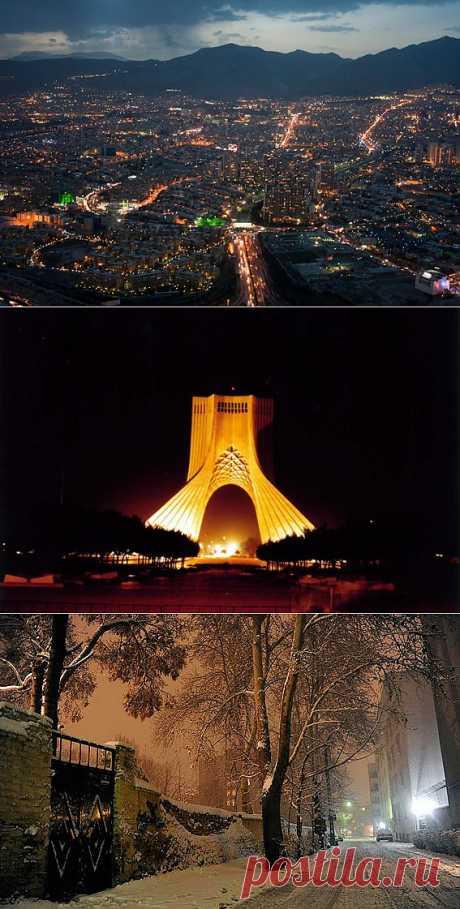 Прогулка по ночному Тегерану   Реза Саджади