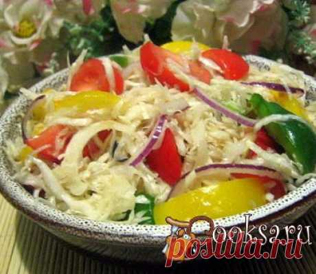 """from fresh cabbage """"Хрустящий"""" the recipe with a photo"""