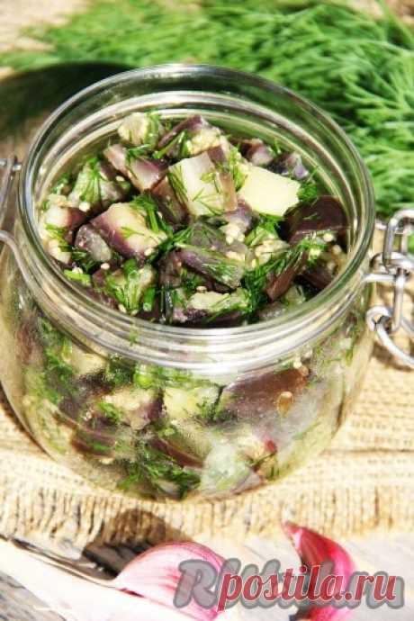 Рецепт маринованных баклажанов быстрого приготовления - рецепт с фото