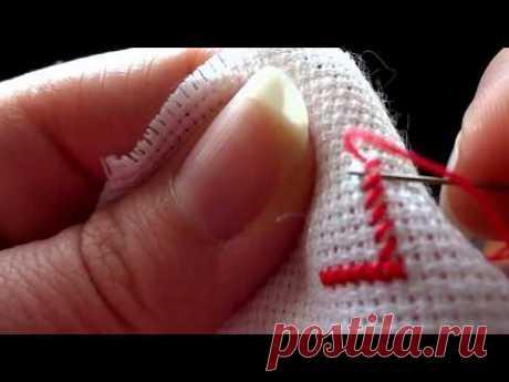 Вышивка крестом: Процесс вышивки крестом для начинающих