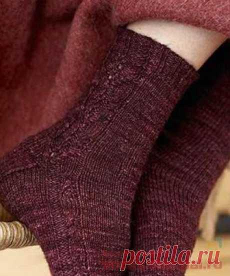 Вязаные носки «Thraw» | ВЯЗАНЫЕ НОСКИ