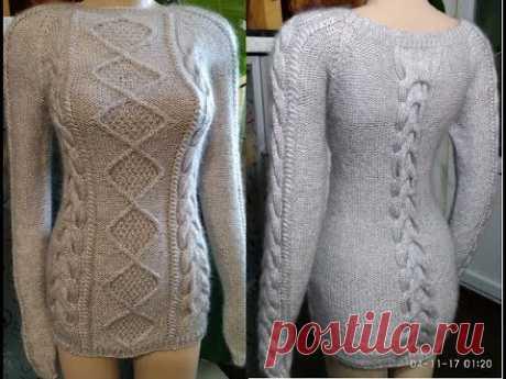 вязаные платья туники длинные свитера и пуловеры виктория