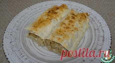 Быстрый пирог с капустой и фаршем Кулинарный рецепт