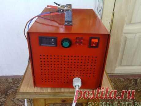 Самодельное зарядное устройство для автомобильного аккумулятора: схема, фото и описание